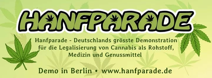 Hanfparade in Berlin