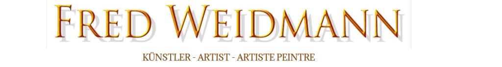Fred Weidmann Künstler